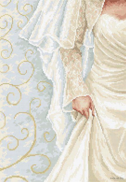 "Вышивка крестом ""Невеста"" (190х275 мм) — фото, картинка"