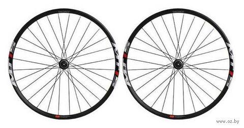 """Комплект велосипедных колёс """"MTB WH-MT15"""" (чёрный) — фото, картинка"""