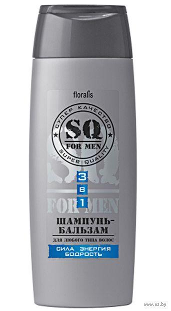 """Шампунь-бальзам для волос """"Сила Энергия Бодрость"""" (250 г)"""