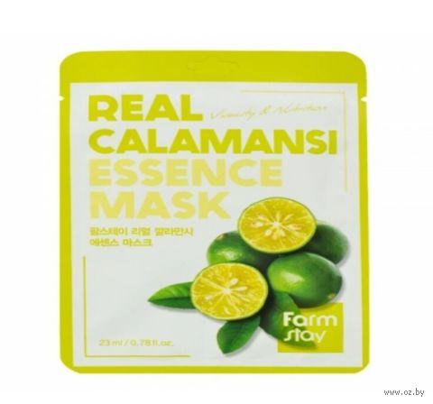 """Тканевая маска для лица """"С экстрактом каламанси"""" (23 мл) — фото, картинка"""
