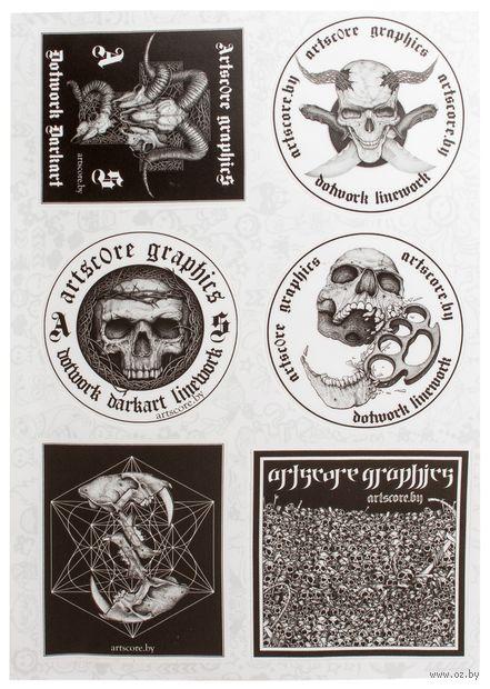 Набор виниловых наклеек №68