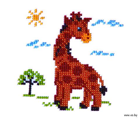 "Вышивка бисером ""Жираф"""