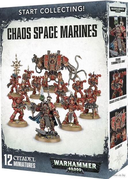 Warhammer 40.000. Chaos Space Marines. Start Collecting (70-43) — фото, картинка