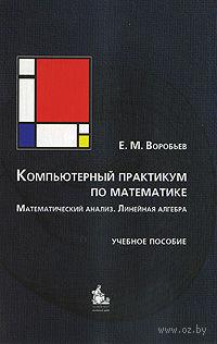 Компьютерный практикум по математике. Математический анализ. Линейная алгебра — фото, картинка