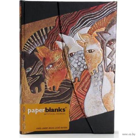 """Записная книжка Paperblanks """"Марокканские кобылицы"""" в линейку (формат: 130*180 мм, средний)"""