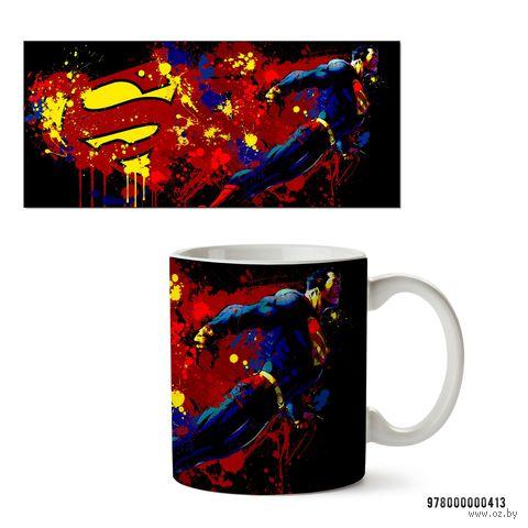 """Кружка """"Супермэн из вселенной DC"""" (413)"""
