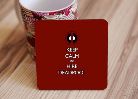 "Подставка под кружку ""Deadpool"" (art.1)"