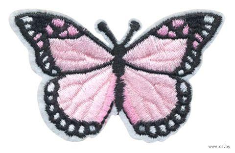 "Термоаппликация ""Бабочка светло-розовая"" — фото, картинка"