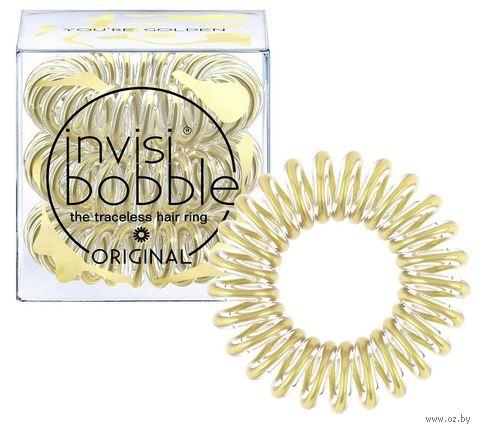 """Резинка-браслет для волос """"You're Golden"""" (арт. 3061) — фото, картинка"""