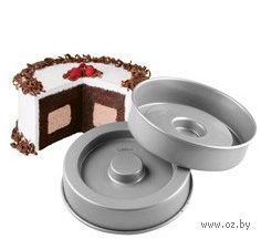 """Набор металлических форм для выпекания """"Квадрат внутри"""" (2 шт; арт. WLT-2105-150)"""