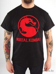 """Футболка """"Mortal Kombat - Classic Logo"""" — фото, картинка"""