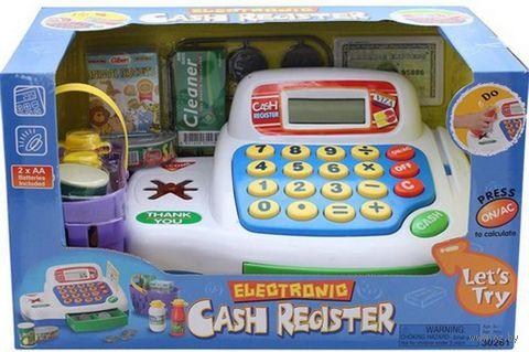 """Игровой набор """"Кассовый аппарат"""" (со звуковыми и световыми эффектами; арт. 30261)"""
