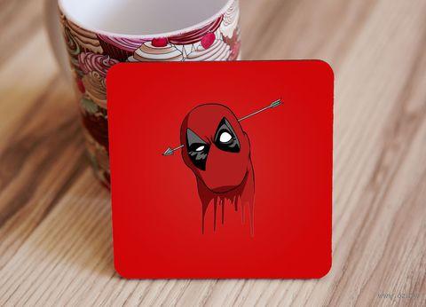 "Подставка под кружку ""Deadpool"" (art.2)"