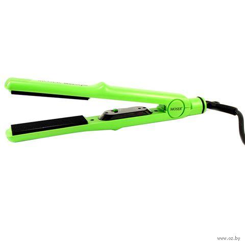 Щипцы-гофре Moser Crimper MaxStyle 4415-0050 (зеленые) — фото, картинка
