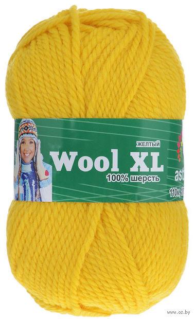 "Пряжа ""Астра. Wool XL"" (желтая; 100 г; 110 м) — фото, картинка"
