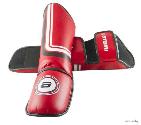 Защита голени и стопы LTB-16601 (S; красная) — фото, картинка