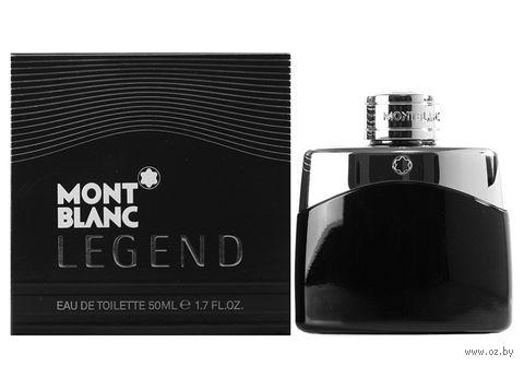"Туалетная вода для мужчин Mont Blanc ""Legend"" (50 мл) — фото, картинка"