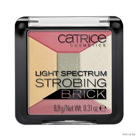 """Палетка хайлайтеров для лица """"Light Spectrum Strobing Brick"""" (тон: 020) — фото, картинка"""