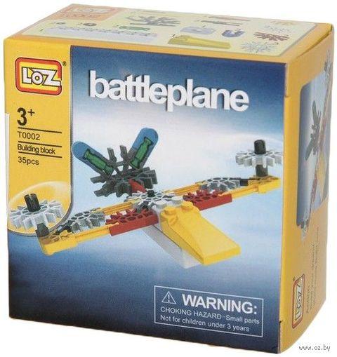 """Конструктор """"LozToys. Военный самолет"""" (35 деталей) — фото, картинка"""