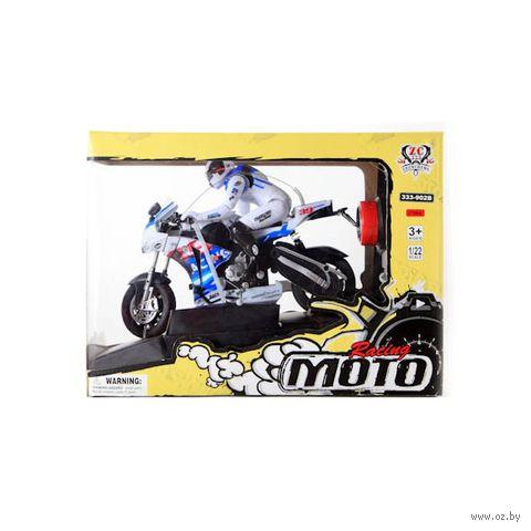 """Игрушка на радиоуправлении """"Мотоциклист Moto Racing"""""""