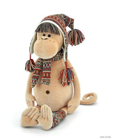 """Мягкая игрушка """"Обезьянка Ирма"""" (18 см)"""