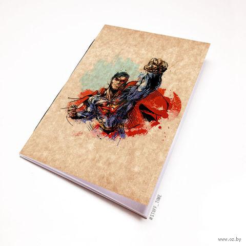 """Блокнот крафт """"Супермен"""" (А5; арт. 880)"""
