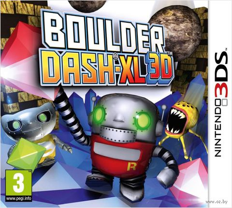 Boulder Dash-XL 3D (3DS)