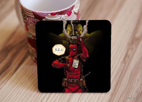 "Подставка под кружку ""Deadpool"" (art.9)"