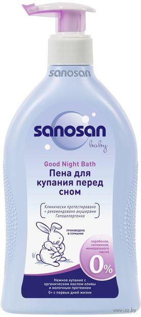 """Пена для ванн детская """"Sanosan Baby"""" (400 мл) — фото, картинка"""