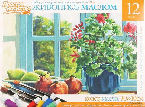 "Набор для рисования ""Цветы на окне"" — фото, картинка"