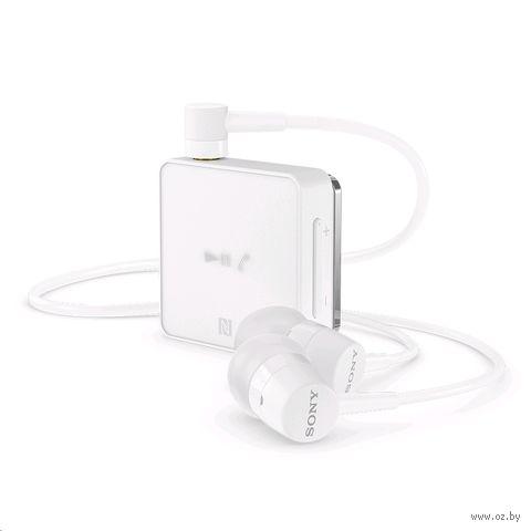 Гарнитура беспроводная Sony SBH24RU/W (белая) — фото, картинка