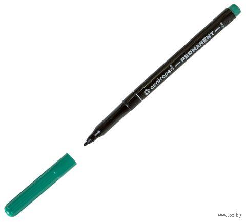 Маркер-перманент (зеленый; светостойкий; 1 мм)