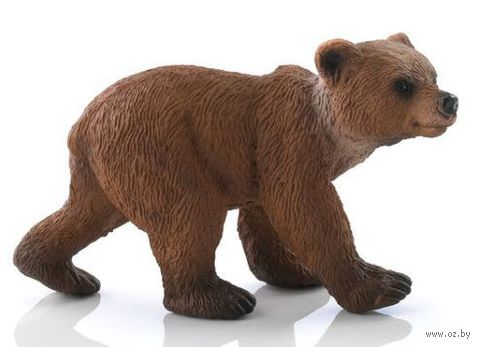 "Фигурка ""Медведь гризли. Детеныш"" (4 см)"