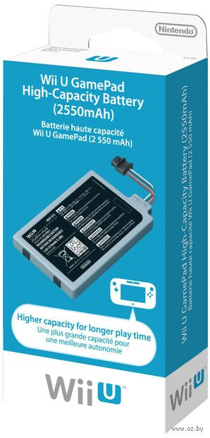 Батарея повышенной емкости Wii U GamePad