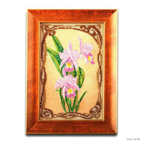 """Вышивка бисером """"Грациозные орхидеи"""""""