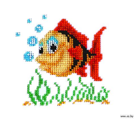 """Вышивка бисером """"Рыбка"""""""