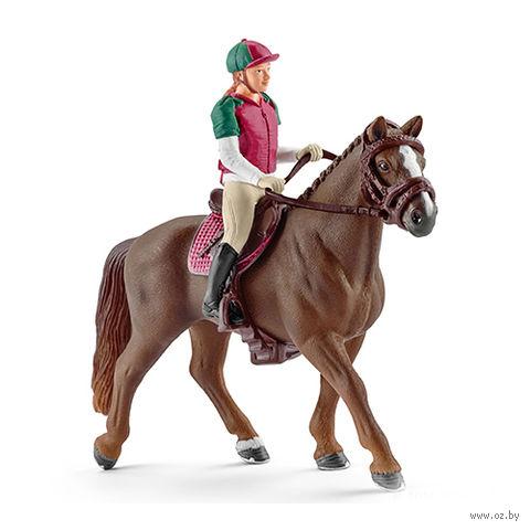 """Фигурка """"Наездница с лошадью"""""""
