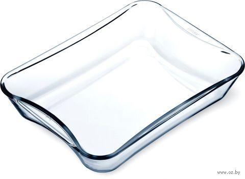 Форма для запекания стеклянная (270х175х55 мм) — фото, картинка