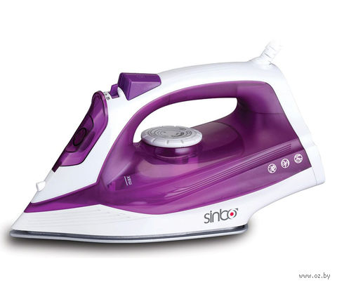 Утюг Sinbo SSI 6619 (фиолетово-белый) — фото, картинка