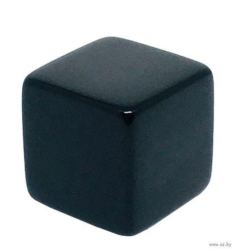 """Кубик D6 """"Пустой"""" (16 мм; чёрный) — фото, картинка"""