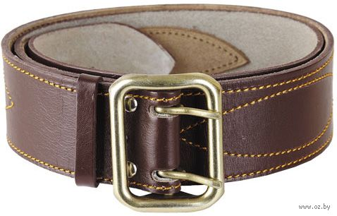 Ремень кожаный (144 см; коричневый) — фото, картинка