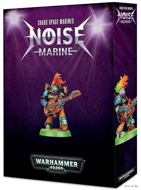 Warhammer 40.000. Chaos Space Marine. Noise Marine (43-58) — фото, картинка