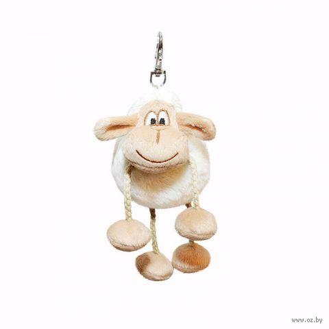 """Мягкая игрушка-брелок """"Овечка"""" (8 см)"""