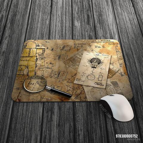 """Коврик для мыши большой """"Стимпанк"""" (арт. 752)"""