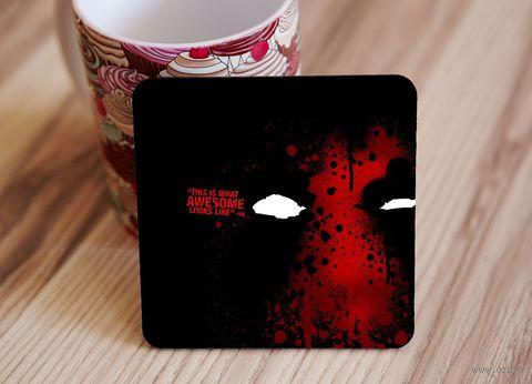 "Подставка под кружку ""Deadpool"" (art.12)"