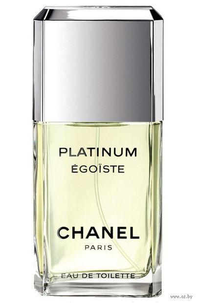 "Туалетная вода для мужчин Chanel ""Egoiste Platinum"" (100 мл) — фото, картинка"
