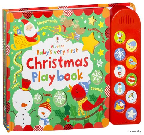 Baby's Very First Touchy-Feely Christmas Play Book (+CD) — фото, картинка