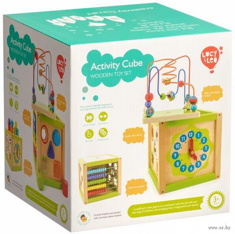 """Развивающая игрушка """"Универсальный куб"""" — фото, картинка"""