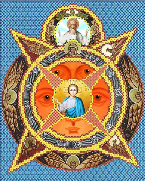 """Вышивка бисером """"Всевидящее Око Божие"""" (250х200 мм) — фото, картинка"""