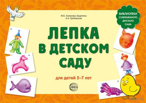 Лепка в детском саду. Для детей 5-7 лет. М. Халезова-Зацепина, Ася Грибовская